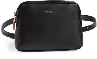 Matt & Nat Paris Faux Leather Belt Bag