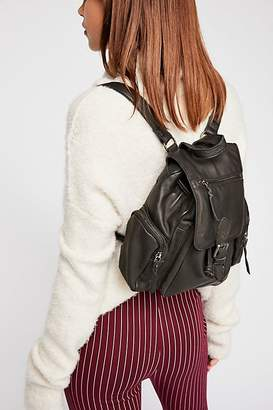 MONICA Cut N Paste Santa Leather Backpack