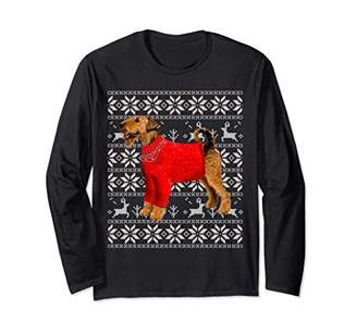 iredale Terrier Ugly Christmas 2018 Sweater long sleeve