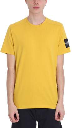 The North Face Mustard Cotton T-shirt