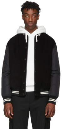 Moncler Black Exmoor Bomber Jacket