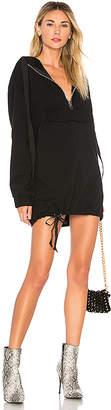 DANIELLE GUIZIO Pullover Zip Dress