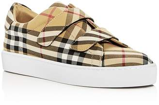 Burberry Women's Alexandra Vintage Check Sneakers