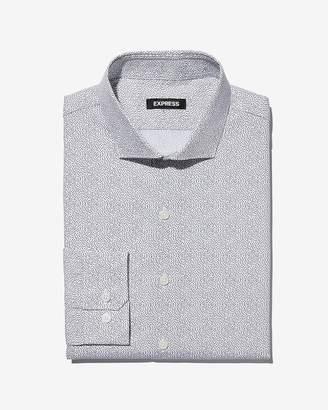 Express Classic Seed Print Dress Shirt