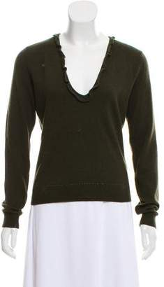 Ralph Lauren Cashmere V-Neck Sweater w/ Tags
