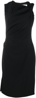 Lanvin knot detail dress