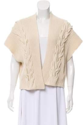 Zero Maria Cornejo Sleeveless Wool Cardigan