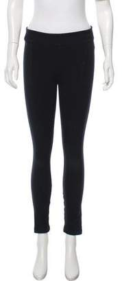 Helmut Lang HELMUT Low-Rise Cropped Leggings