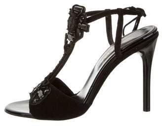 Oscar de la Renta Josefina Embellished Sandals w/ Tags