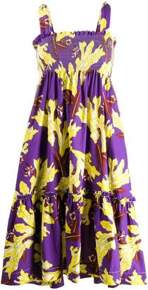 P.A.R.O.S.H. all over print babydoll dress