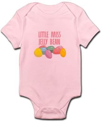 Little Miss CafePress Jelly Bean Infant Bodysuit - Cute Infant Bodysuit Baby Romper