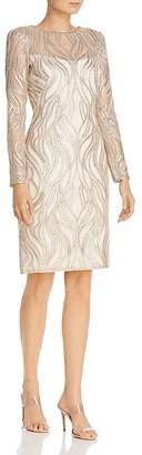 Tadashi Shoji Tadashi Petites Petites Embellished Sheath Dress