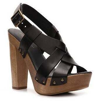 Dolce & Gabbana Leather Platform Sandal