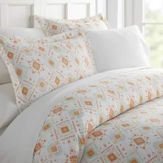 Noble Linens Premium Ultra Soft Aztec Dreams Pattern 3 Piece Duvet Cover Set