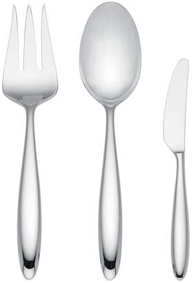 Lenox 3Pc Curve Stainless Steel Serving Set