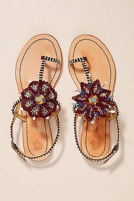 Maliparmi Beaded Sandals