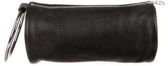 Kara Ring Leather Zip Handle Bag