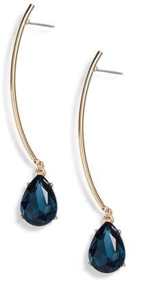 Halogen Gemstone Linear Drop Earrings