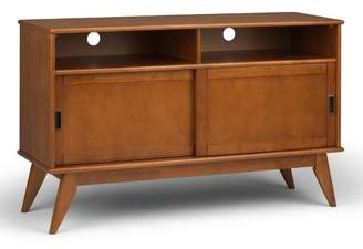 """Mid-Century MODERN WyndenHall Tierney Solid Hardwood Mid Century Tall TV Media Stand For TVs up to 60"""""""