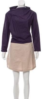 Marni Dual Tone Knee-Length Dress