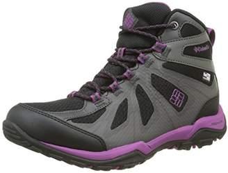 Columbia Women Peakfreak Xcrsn Ii Xcel Mid Outdry High Rise Hiking Boots, Black (Black/Intense Violet 010), 39 EU