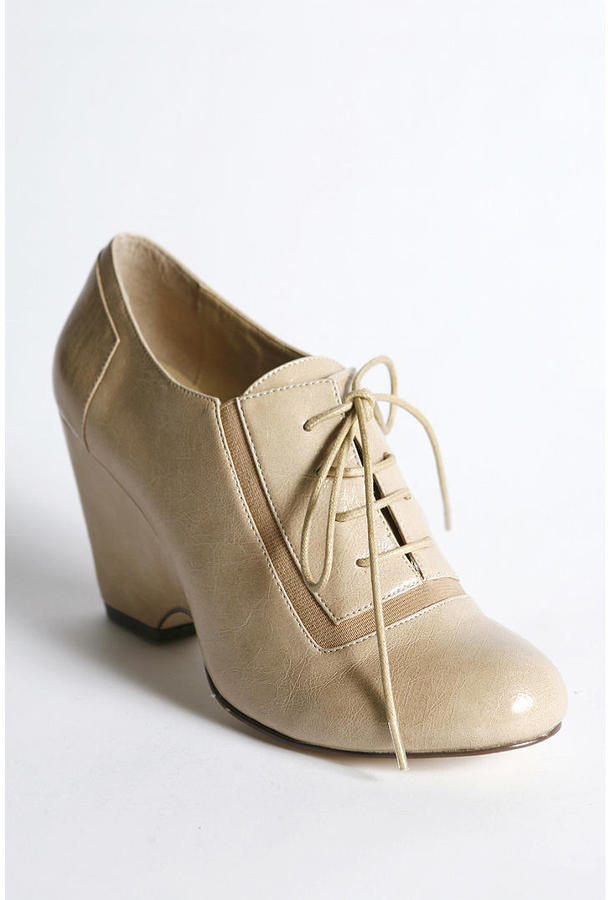 Deena & Ozzy Patent Oxford Wedge