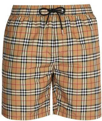 Burberry Vintage Check Swim Shorts - Mens - Multi