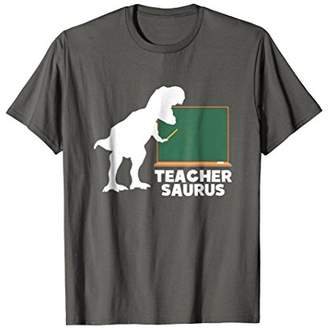 Teachersaurus T-Shirt - Funny Teacher Dinosaur Gift