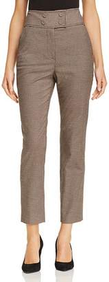 Rebecca Taylor Houndstooth Cropped Pants