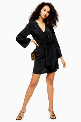Topshop Tiffany Knot Mini Dress