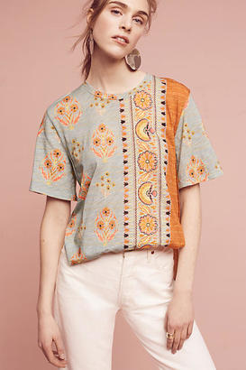 Anthropologie Delilah Tee $58 thestylecure.com