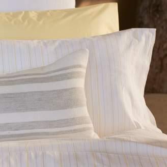 Coyuchi Organic Cotton Yarn Dye Stripe Sheet Set, Twin