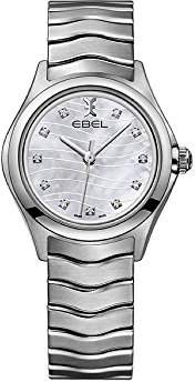 Ebel Womens Analogue Classic Quartz Watch with Stainless Steel Strap 1216267
