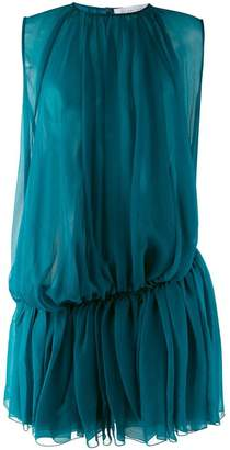 Gianluca Capannolo gathered pleat dress