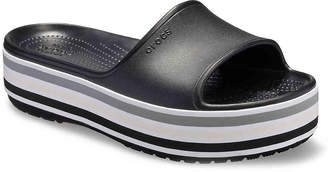 Crocs Bold Color Platform Slide Sandal - Women's
