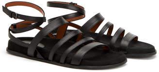 Aquatalia Ilise Waterproof Leather Sandal
