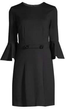 Trina Turk Jazzy Song Bell Sleeve Dress