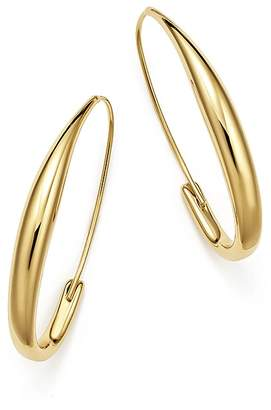 Bloomingdale's Endless Oval Hoop Earrings in 14K Yellow Gold - 100% Exclusive