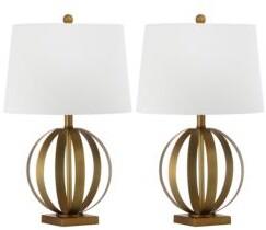 Safavieh Euginia Sphere Table Lamp/Set of 2