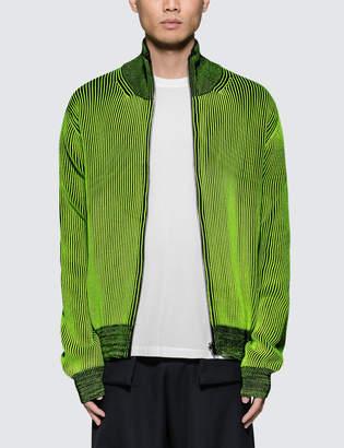 Maison Margiela Reversible Knitted Zip up Cardigan