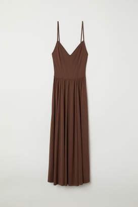H&M Sleeveless Dress - Brown