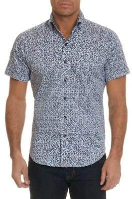 Robert Graham Derry Sub For Doyle Short-Sleeve Button-Down Shirt