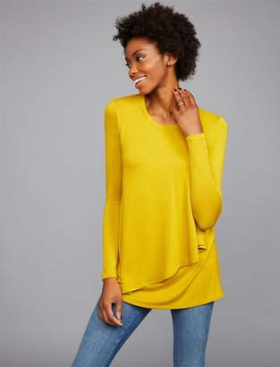 A Pea in the Pod Pull Over Drop Shoulder Nursing Top