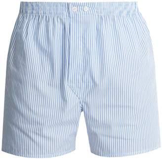 Derek Rose James cotton-poplin boxer shorts