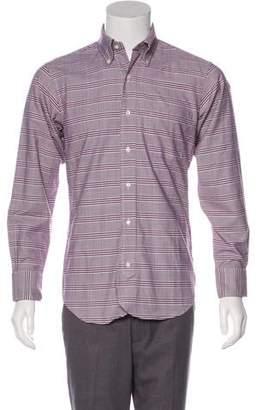 Black Fleece Plaid Woven Shirt w/ Tags