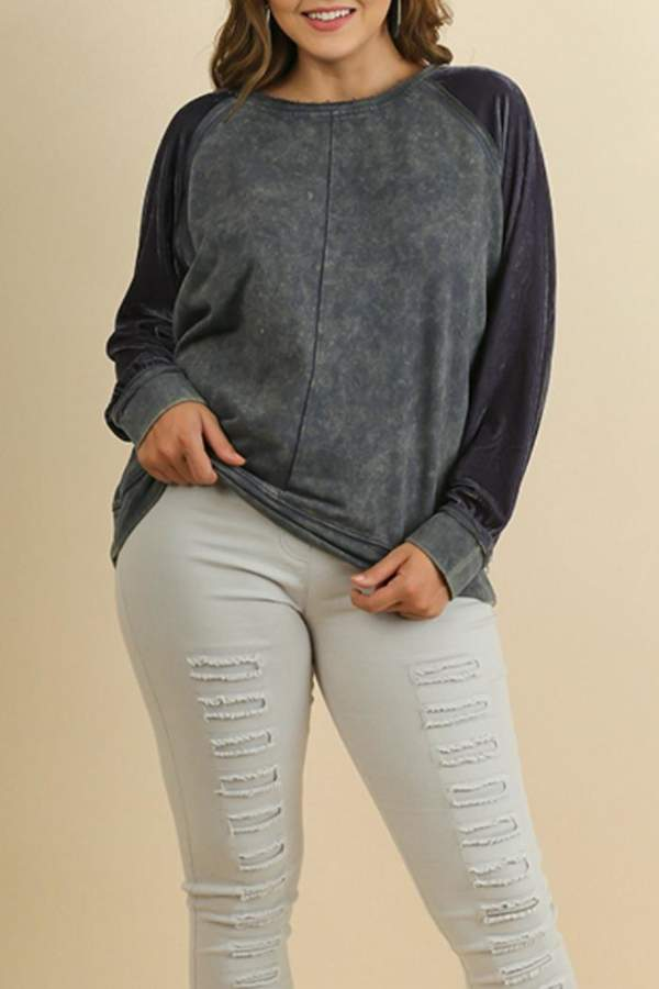Comfy Style Velvet Top