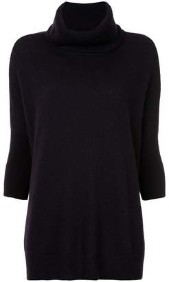 Sofia Cashmere roll neck jumper