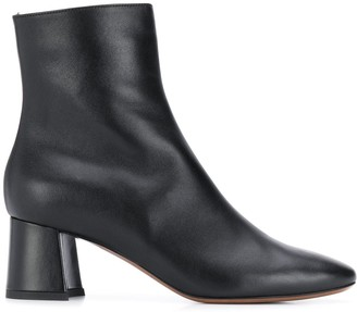 L'Autre Chose leather ankle boots