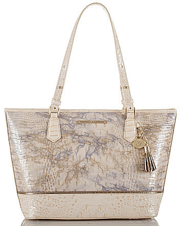 Brahmin BRAHMIN Brahmin Alma Collection Medium Asher Tasseled Tote