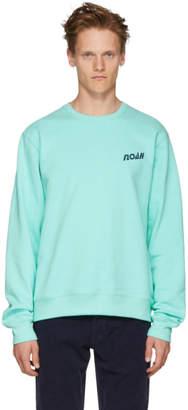Noah NYC Blue Deep Sea Sweatshirt